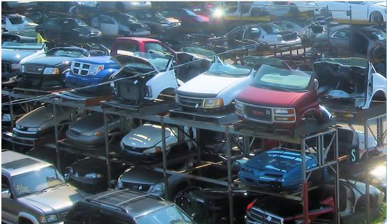 rta pièces d'auto usagées américaines   ford gm chrysler   (514) 648